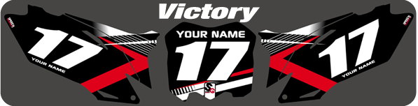 motocross graphics | dirtbike number kits