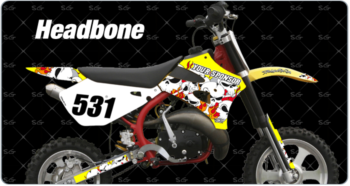 headbone dirtbike graphics for cobra