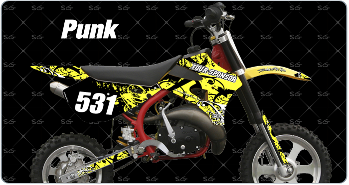Cobra Punk Motocross Graphics