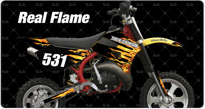 Cobra Real-Flame Motocross Graphics