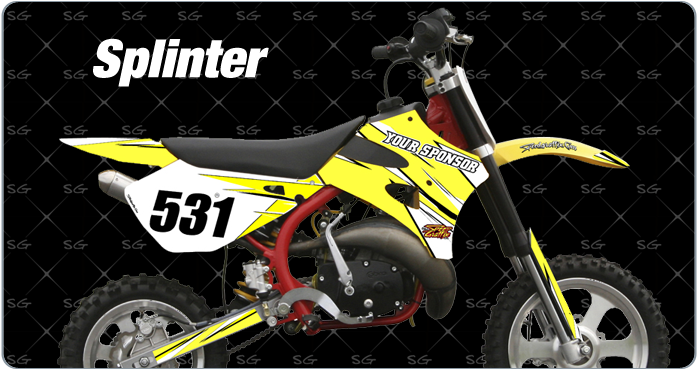 Cobra Splinter Motocross Graphics