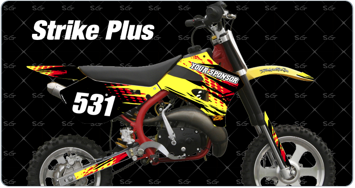 strikestrike plus cobra motocross graphics