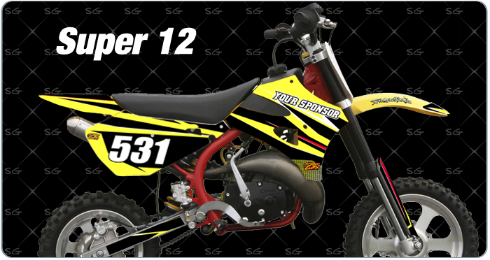 super 12 Cobra Motocross Graphics