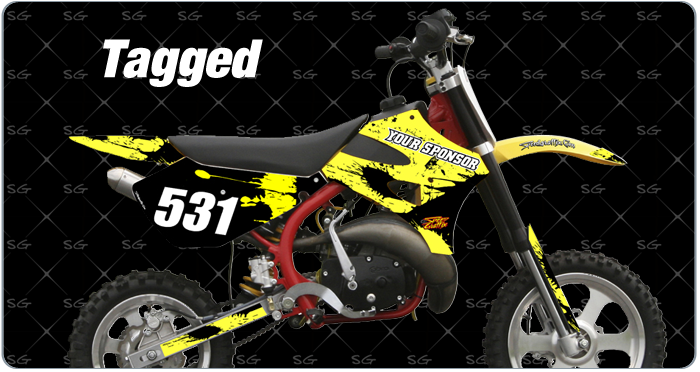 Cobra Tagged Motocross Graphics