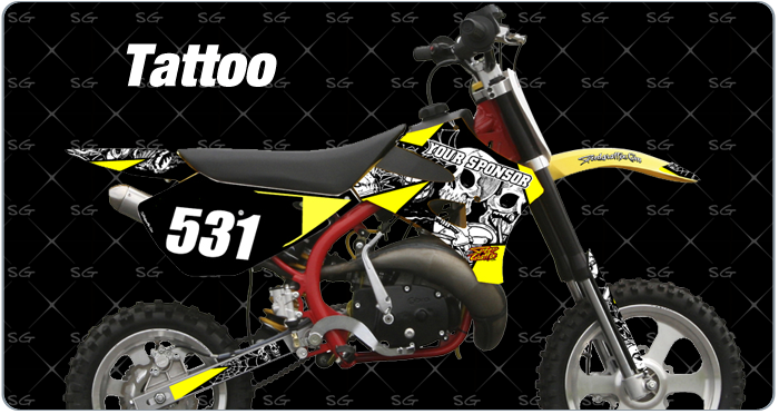 Cobra Tattoo Motocross Graphics