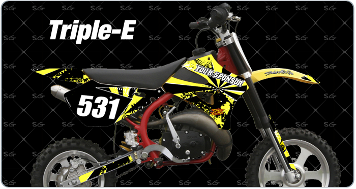 Cobra Triple-E Motocross Graphics