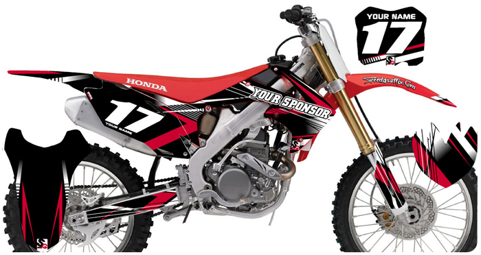 dirt bike graphics | Speed Graffix
