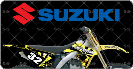 Motocross Graphics Kits For Suzuki